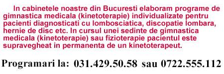 tratament sciatica lombara
